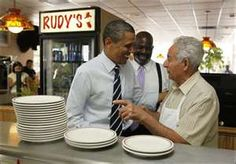 Rudy's Hot Dog...so good, even President Obama eats there!