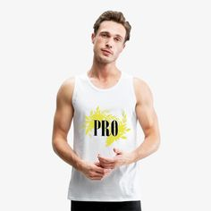 Men's Premium Tank is in stock. We will print it as soon as you order it. ------ Ready to ship in days -------- Premium quality tank top made of cotton (heather gray is viscose, charcoal gray is polyester). Pride Shirts, Tee Shirts, Skate Maloley, Doce Banana, Tank Top Herren, Brave, Fashion Online Shop, Best Friend T Shirts, Skate Shop