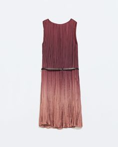 OMBRE DRESS WITH BELT-Plain-Dresses-WOMAN-SALE | ZARA United States
