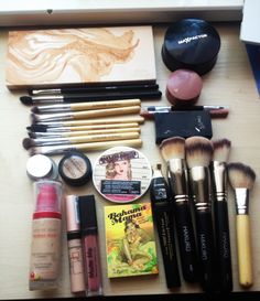 The Balm, Hakuro, Max Factor, Bourjois, Sleek, Sunshade Minerals, Zoeva, Catrice