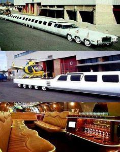 Longest limousine in the world Weird Cars, Cool Cars, Limousine Car, Ferrari, Unique Cars, Vintage Trucks, Ford, Sport Cars, Custom Cars