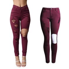 Find More Jeans Information about 1533 YouAxon Female Ladies ...