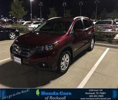 https://flic.kr/p/NFUGW9 | Congratulations Angel on your #Honda #CR-V from Abraham Herrera at Honda Cars of Rockwall! | deliverymaxx.com/DealerReviews.aspx?DealerCode=VSDF