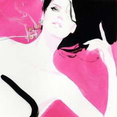 Live in Love, early concept drawings — by David Downton
