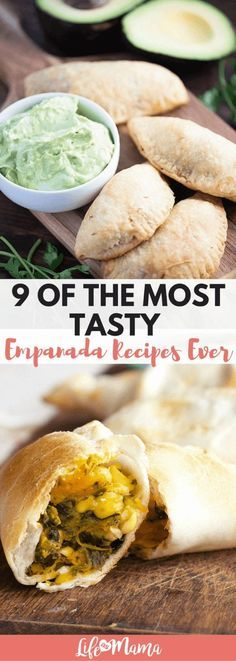Flaky or crispy bread covers a delicious mixture of meat, veggies and spices- YUM. We've rounded up some of the most appetizing empanada recipes right here! Mexican Dishes, Mexican Food Recipes, Ethnic Recipes, African Recipes, Appetizer Recipes, Dinner Recipes, Appetizers, Tapas, Cooking Recipes