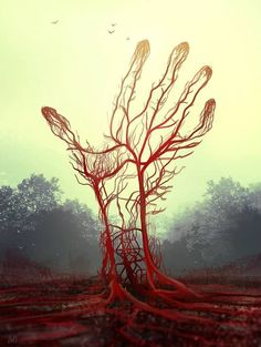 The red tree The Art of Nagy Norbert
