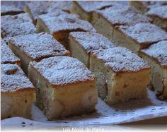 Los Blogs de María. : Brownie blanco con nueces de macadamia