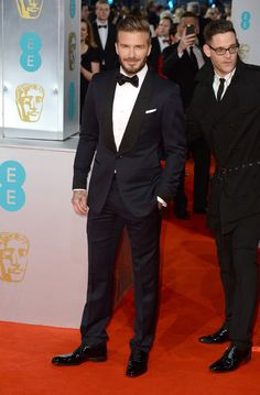David Beckham. | Here Are All The Celebrities Who Attended The BAFTAs