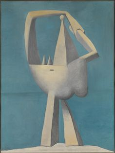 Pablo Picasso, Nude Standing by the Sea, 1929. Oil on canvas. The Metropolitan Museum of Art, New York