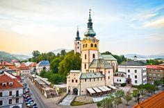 Banská Bystrica. Slovaquia.