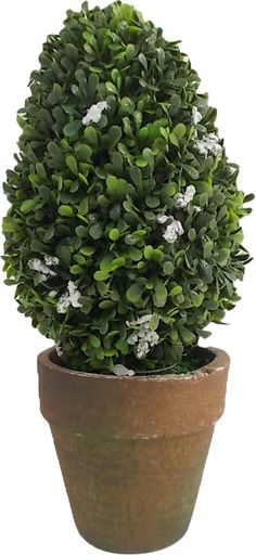 Faux Floral Topiary