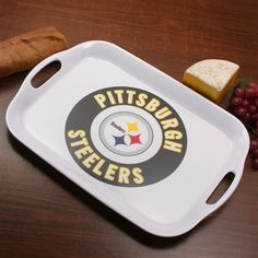 Pittsburgh Steelers 16'' Melamine Serving Tray