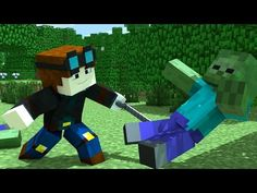 TRAYAURUS GETS OLD - DanTDM - Minecraft Animation! - YouTube