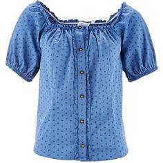 Schöne #dunkelblaue #Bluse von bpc bonprix collection. Diese Bluse bezaubert mit einem feinen #Trachenlook. Ideal zu Lederhose. Ideal für das nächste Volksfest. <3 ab 24,99 €