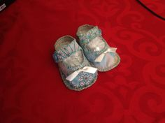 My first attempt at baby shoes.  :)