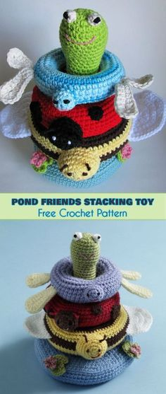 Stacking Toys [Crochet Patterns, Free Crochet Patterns]