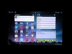 Galaxy Tabs @ CLV - Postcard Creator - YouTube