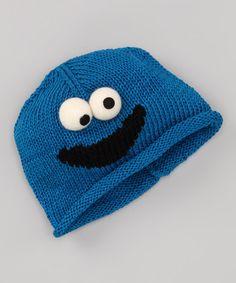 Sesame Street Blue Cookie Monster Organic Beanie - Toddler 41f536cddffb