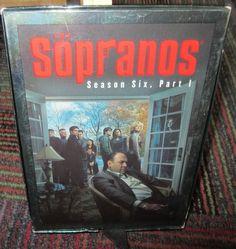 THE SOPRANOS: SEASON SIX PART 1 4 DISC DVD SET, HBO VIDEO, GUC