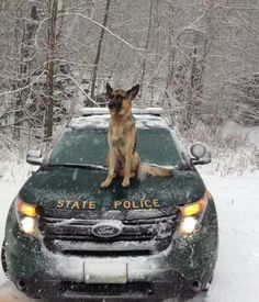 First full day of winter with the Vermont State Police
