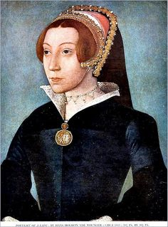 Portrait of a Lady by Hans Holbein 1543 not sure why the website describes it as Princess Elizabeth when the caption at the bottom of the picture clearly says 'a lady'