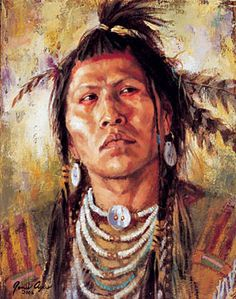 Native Americans Indians by James Ayers Artist