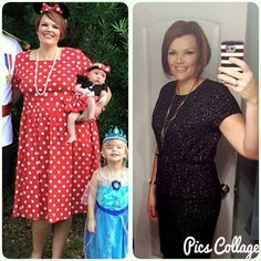 """""""What a difference a year makes! I've been on Trim Healthy Mama for 9 months now and I love it!"""" Sarah K. www.TrimhealthyMama.com"""