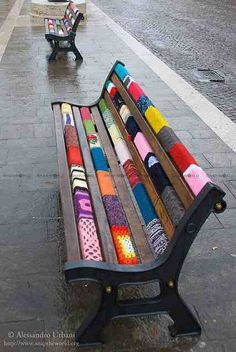 Street Art Bench