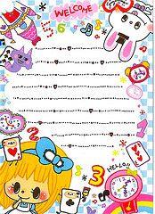 Q-lia Princess Story Memo Pad (xiwang.love) Tags: cute japanese scan memo kawaii stationery