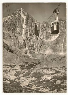 stamp and postcard: Tatras in love cca 1950 - 1973 Mount Rushmore, Stamp, Mountains, Love, History, Nature, Pictures, Travel, Amor