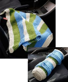 Knit a car blanket for dad this Father's Day. Check out the inspirational short story Selma Moss Ward wrote.