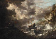 BONAVENTURA PEETERS I ANTWERP BAPT 1614 - 1652 HOBOKEN    Sold: Log in to view