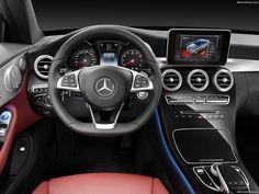 Mercedes Benz C Class Coupe 2017 (1600x1200):