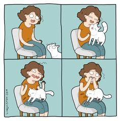 Lingvistov.com - #illustrations, #doodles, #joke, #humor, #cartoon, #cute, #funny, #comics, #greeting #cards, #joke, #drawing, #cats