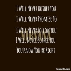 You Know You're Right - Nirvana