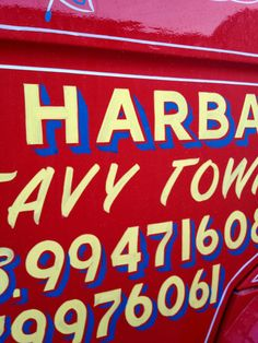 "Maltese typography, often seen on old buses and trucks, is called ""tberfil"""
