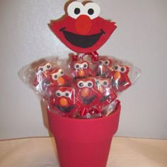 Elmo sucker pot