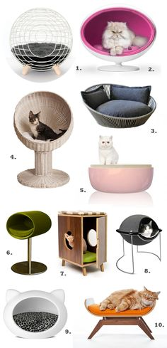 luxury cat beds and furniture Tap the link for an awesome selection cat and kitten products for your feline companion!