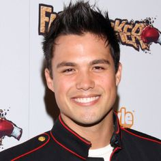 Michael Copon (saw him on Bring It On: In It To Win It, soo cute! Michael Copon, Silly Love Songs, Power Rangers, Glee, Captain Hat, Bring It On, Gangsters, It's Raining, Sexy