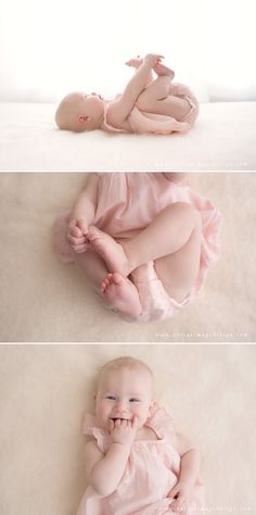 Happy Six Month Old Baby Girl | Raleigh Baby Photography