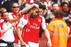 Theo Walcott and Hector Bellerin // #AFC