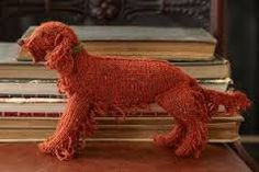 Hand-Knit Pedigree Pooches by KnitPooches on Etsy