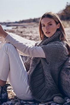 Anthropologie Handknit Cable Cardigan #anthrofave
