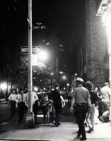 A Brief History of Gay Pride Parades: The corner of Christopher and Gay Streets during the Stonewall riots. Stonewall Inn, Stonewall Riots, Stonewall Uprising, Charles Manson, Lgbt Rights, Man On The Moon, Pride Parade, Lgbt Community, Prince Of Wales