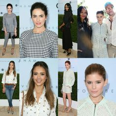 #CamillaBelle, #JessicaAlba, #ZoeSaldana, #KateMara, and #JohnnyWujek - were both at the launch of #VictoriaBeckham's collection for #Target on Saturday! • • • • • #CamillaBelle, #JessicaAlba, #ZoeSaldana, #KateMara e #JohnnyWujek - ambos estiveram no lançamento​ da coleção de #VictoriaBeckham para #Target, no Sábado!