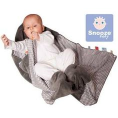 PChome Online 商店街 - babygo親子購物網 - *babygo*荷蘭Snoozebaby寶貝外出型便利包巾/有機棉深灰