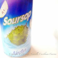 Goya Soursop/Guanabana Drink | Photo by NZINGHA for ZLounge: Nouvelle Caribbean Cuisine