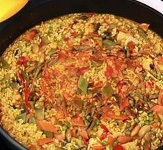 Paella for Vegetarian Recipe