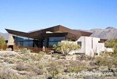 Casa de diseño en el desierto