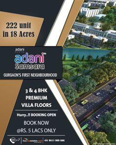 Adani Samsara Floors Sector 60 Gurgaon at Golf Course Road Extn